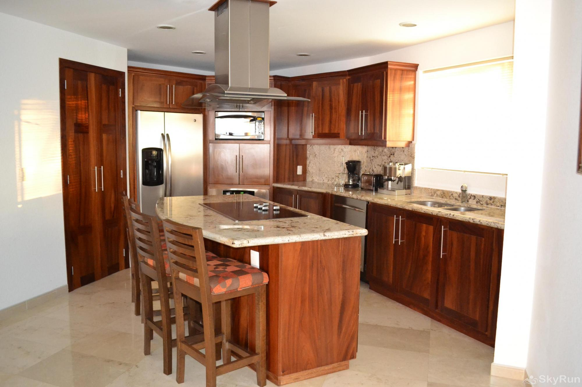 Spectacular Ocean View 1br with Outdoor Pool, balcony!  PV at it's finest Gourmet Kitchen
