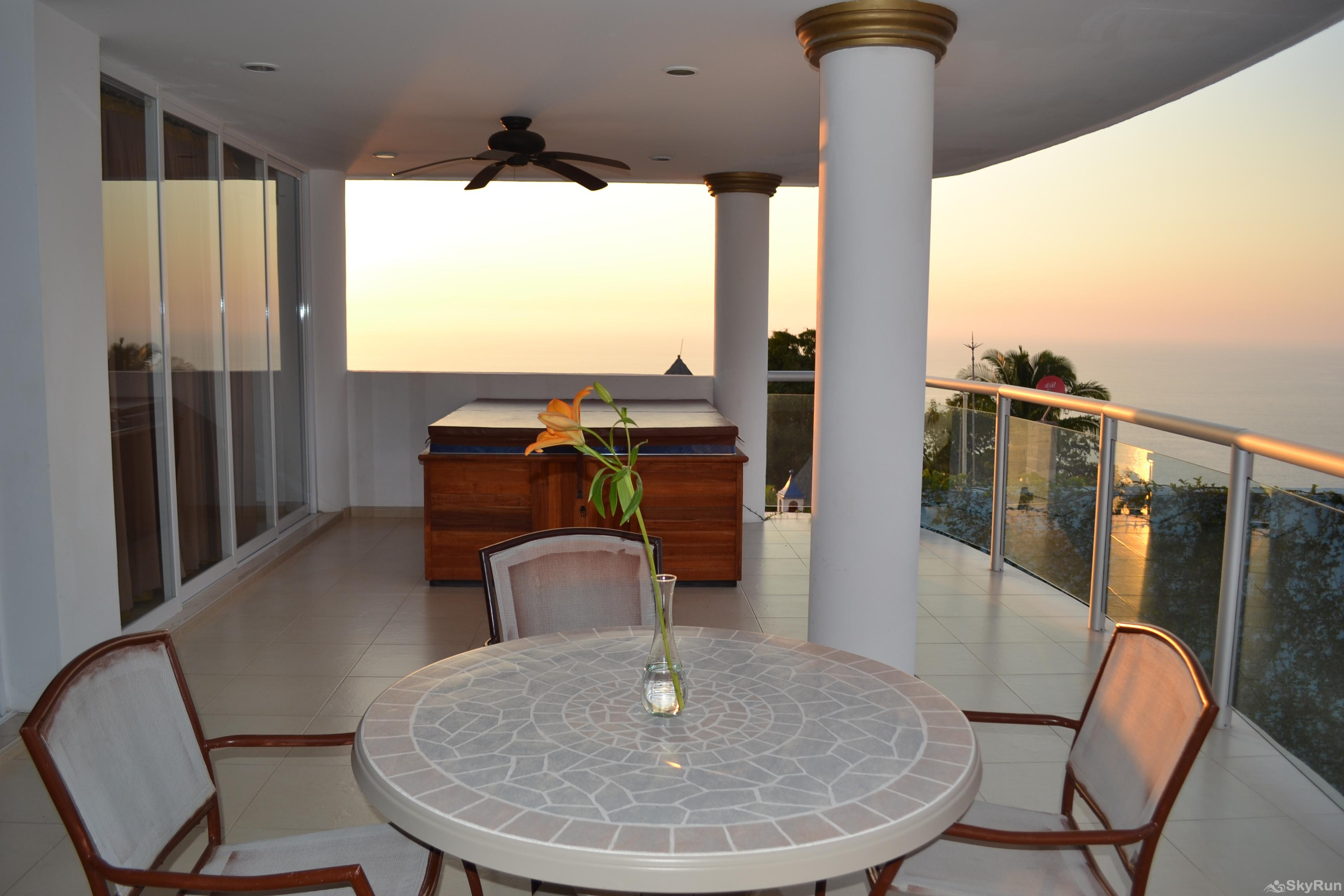 Spectacular Ocean View 1br with Outdoor Pool, balcony!  PV at it's finest